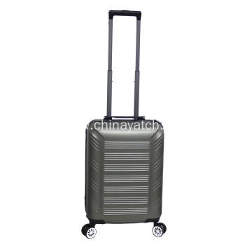 Alloy trolley luggage with 4 wheels