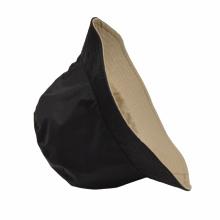 Reversible cotton nylon bucket hat waterproof cheap promotion fisherman sunshade hat caps