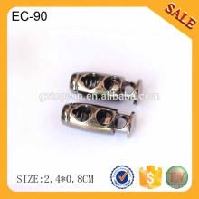 EC90 2016 New tips drawstring stopper metal cord end