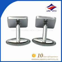 Wholesale custom nickel plating cufflinks by cufflinks supplier