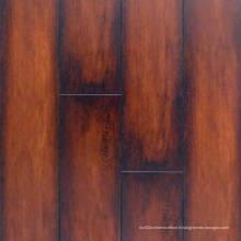 Plancher stratifié imperméable de stratifié de texture du grain commercial de 12.3mm E1 AC4