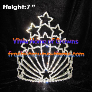 7inch Vintage Star Pageant Crowns