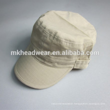 100% cotton woven roving military peaked cap