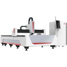 Rotary Exchange Table Motor Fiber Laser Cutting Machine With Control