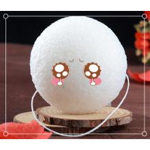 Amostra grátis de esponja de banho para bebês Konjac Esponja corporal natural
