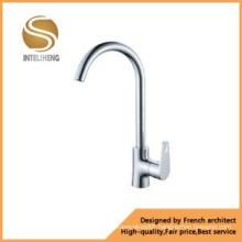 Modern Style Brass Kitchen Mixer Faucet (AOM-2103-1)