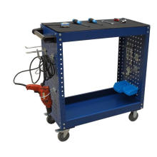 Double Layer Hand Tool Trolley