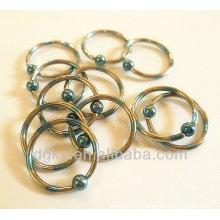 Bagues de fermeture à billes Piercing industriel piercing bijoux