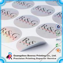 Drucken von Farbpapier benutzerdefinierte Etikettenaufkleber