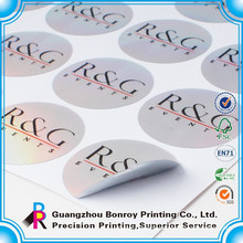 printing color paper custom label sticker