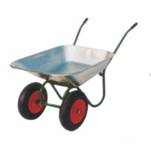 Two Wheels Hand Wheelbarrow Wb6410