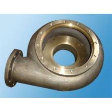 Sand blasting , heat treatment centrifugal pump casting hou