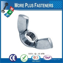 Made in Taiwan Forged Stamped Rounded Wing Washer Based Special Wing Nut