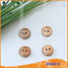 Natürliche hölzerne Knöpfe für Kleidungsstück BN8001