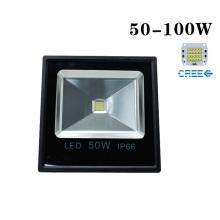 CREE 100W 9000lm 85-265V LED Floodlight ao ar livre