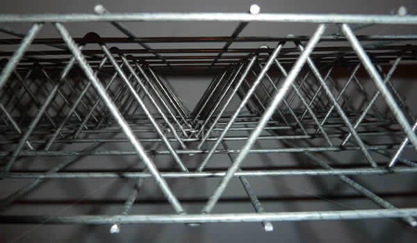 EPS 3D dikimpal wire mesh panel
