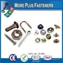 Fabricado en Taiwán Standard No Estándar Decorativo Custom OEM Tornillos sujetadores