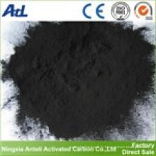 Poudre de charbon actif bonne qualité pour la décoloration de la nourriture