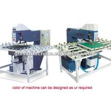 Horizontal glass drilling machine