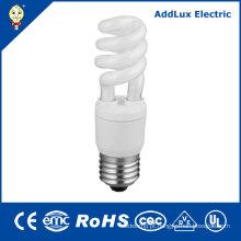Lâmpadas de poupança de energia lisas do UL 7W 9W 11W espiral do CE do CE