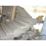 Luxury Golden River Marble for Stairs Flooring Wall