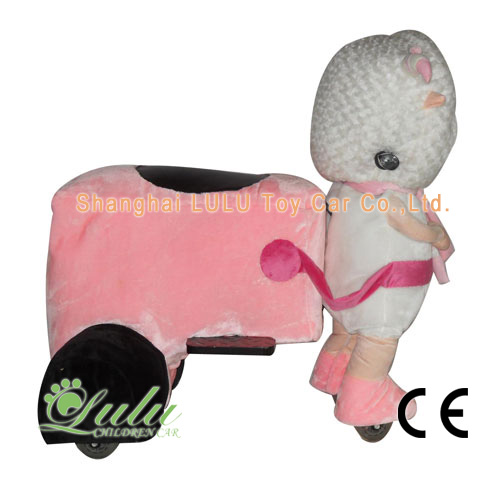 Jolie chèvre animaux Rider Coin Operated Machine