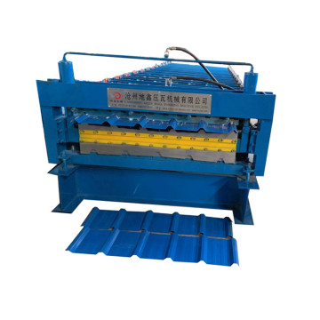Galvanizing Roof Roof Roll Forming Machine