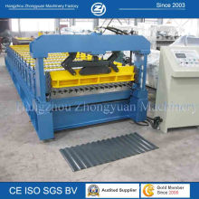 Length Set Cutting Corrugated Metal Roof Roll Forming Machine
