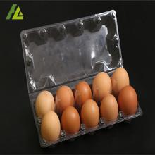 पारदर्शी Thermoforming प्लास्टिक चिकन अंडे की ट्रे