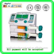 Hot seller double Channel Medical Syringe pump MSLIS02