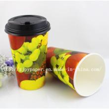 Индивидуальный печатный биоразлагаемый бумажный стаканчик
