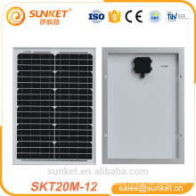 low price all size small mono 20w solar panel for led light