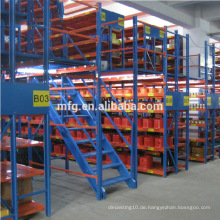 Kundenspezifische Heavy Duty / Loading Knock-down Warehouse Storage Racks Plattform