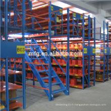 Plate-forme de rangement de rangement à stockage lourd personnalisé