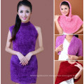 High Quality Nylon Taiwan Magic Scarf for Women (MU6603-1)