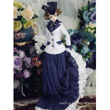 Vestido longo Europa Isabella para boneca articulada