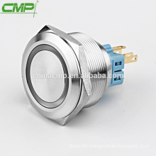 CMP waterproof IP67 Metal Stainless steel no nc push button switch 30mm