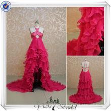 RSE130 спинки длинное сзади короткое спереди разрез спереди сексуальный Вечерние платья 2013