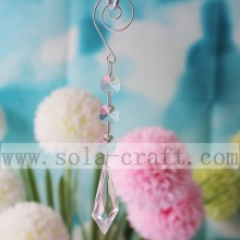 Transprarent Irregular Icicle Cut Chandelier Trimming Part For Wedding Tree Decoration 16CM