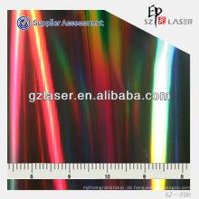 GZ-280, Kunststoff-Glasplatte Polycarbonat geprägtes Blatt