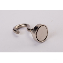 Permanent Strong N35 NdFeB Magnetic Hook with Nickle Plating