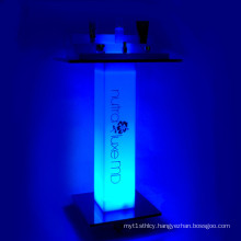 Beautiful LED Acrylic Cosmetic Displays Stands