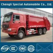 Véhicule spécialisé Sinotruk HOWO Camion Compacteur Waster Garbage Truck