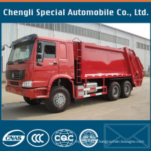 Specialized Vehicle Sinotruk HOWO Truck Compactor Waster Garbage Truck