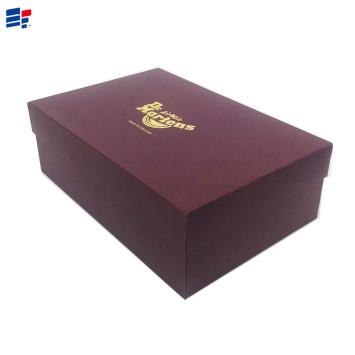 Paper cardboard shoe packaging box