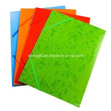 A4 Index Divider Twin Pocket Folders 2 Pockets Présentation Art Paper Fichier Dossier pour Binder