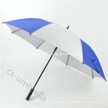 """27 """"manueller offener Förderung-Golf-gerader Regenschirm für die Werbung (YSS0127)"""