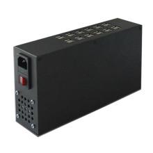 Metal 24 Ports 120W USB Charger Station with EU Au Us UK Plug