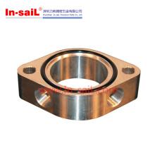 Peças de bronze Titanium de giro do torneamento do CNC
