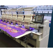 8 head embroidery machine/new technology embroidery machine
